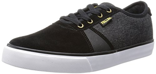 Fallen Men's Strike-M, Black/Denim/Gold, 8 M US