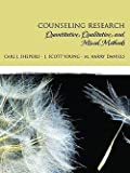 Carl J. Sheperis: Counseling Research : Quantitative, Qualitative, and Mixed Methods (Hardcover); 2009 Edition