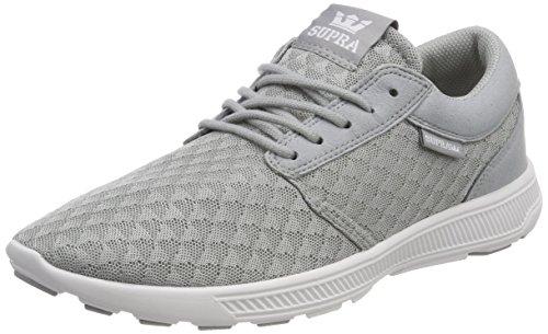 Supra Herren Hammer Run Sneaker Grau (Lt. Grey-white)