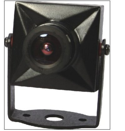 Super Mini Color Camera with metal housing - with Audio (NTSC)