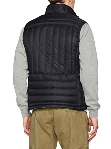 Jeep Men's Thermo Microsphere Vest (XXL, Black/Green Lime)