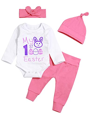 Newborn Infant My 1ST Easter Outfit Baby Girl
