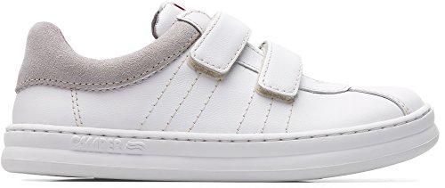 Camper Kids Boys' Runner Four Kids K800139 Sneaker, White, 32 M EU Big (1 US) (Camper Shoes Kids Girls)