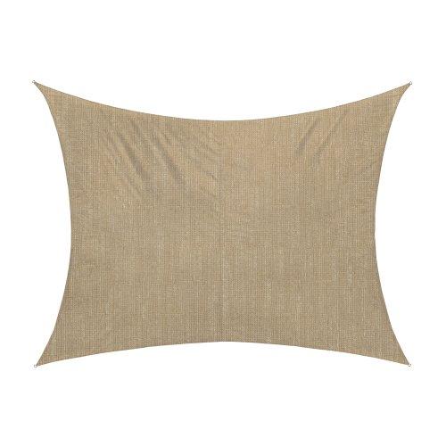 jarolift toldo vela rectangular transpirable 400 x 300 cm beige amazones hogar