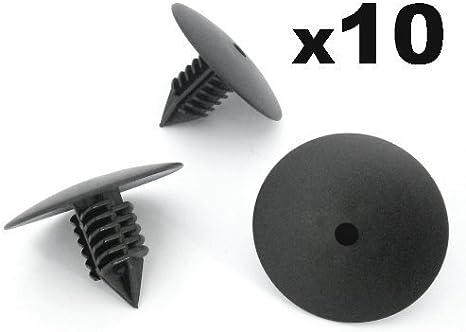 10x pare-choc pare-chocs Garde-boue Clips de fixation pour Renault Kangoo Clio