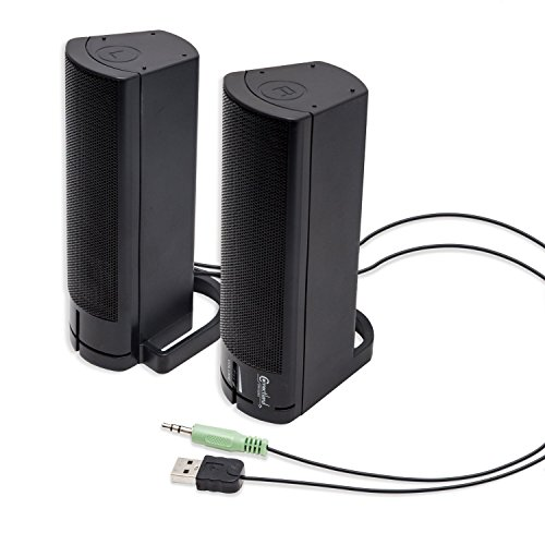 Connectland Powered Desktop Monitor Speaker product image