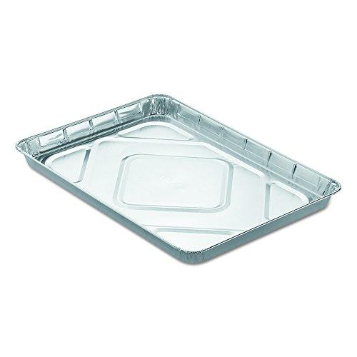 Handi-Foil of America 206355 Aluminum Cake Sheet, 130 oz, 12 13/16'' x 1 1/4'' x 17 5/8'' (Case of 100) by HFA