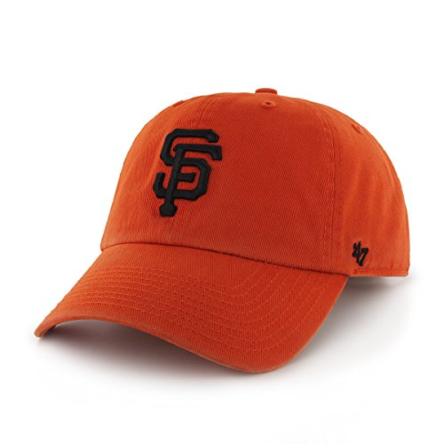 (MLB San Francisco Giants '47 Brand Clean Up Road Style Adjustable Cap, One Size,)