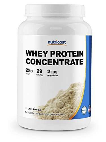 Nutricost Whey Protein Concentrate (Unflavored) 2LBS For Sale