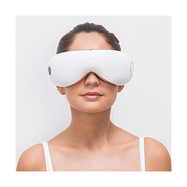 SKANDAS® Massaggiatore per occhi (modello 2020) - Maschera elettrica per occhio – Massaggiatore bicchieri con massaggio… 3 spesavip