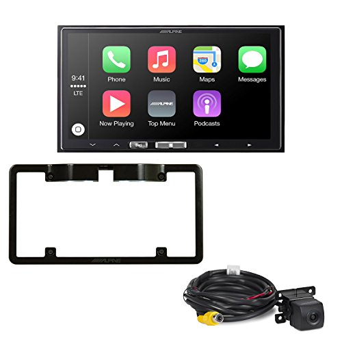 Alpine iLX-107 7 Inch Mech-Less, Compatible with Wireless Ap