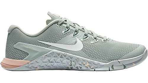 Metcon Silver Ice Green 4 Multicolore Guava Running Compétition NIKE Mica WMNS White 007 Femme de Light Chaussures 5qvxORwH