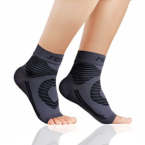 Featol Plantar Fasciitis Socks with Arch Support Ankle Support for Men and Ladies, Ankle Compression Socks Foot Sleeve to Relieve Arch Ache, Better than Night Splint – DiZiSports Store