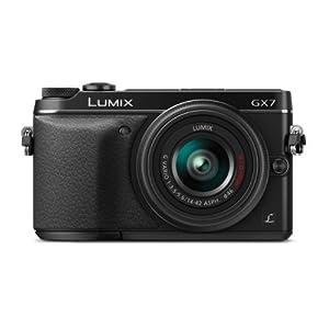 Panasonic LUMIX DMC-GX7KK Mirrorless Digital Camera with 14-42 II Lens Kit (Black)