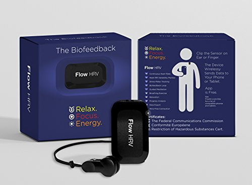 Flow HRV: Biofeedback Wireless Android Device & Games for Meditation, Relaxation and Focus Traning by Flow HRV (Image #3)