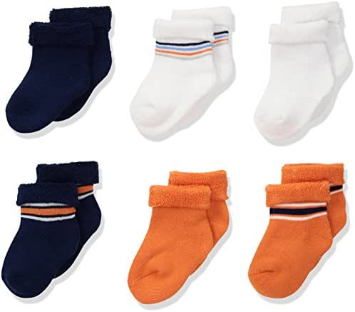 Gerber Baby Boys' 6-Pair Sock