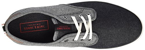 JACK & JONES Jfwtack Denim Mix Anthracite, Zapatillas para Hombre Gris (Anthracite)