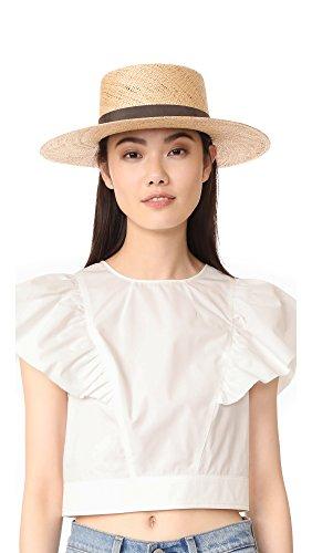 Janessa Leone Women's Jade Bolero Hat, Natural, Small by Janessa Leone