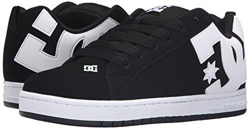 DC Shoes Court Graffik Hombre US 9.5 Negro Deportivas Zapatos UK 8.5