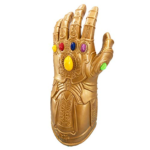LED Light Infiniti Gauntlet, Power Man Gloves Props, Costume Party Mask Decoration for Halloween -