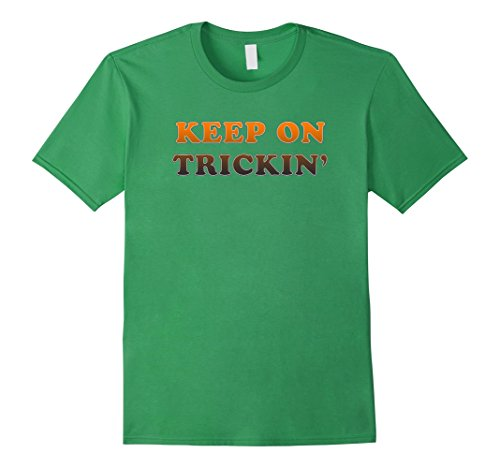 [Mens Keep On Trickin' 70's Retro Vintage T Shirt Throwback Tee 2XL Grass] (Throwback Costumes Ideas)