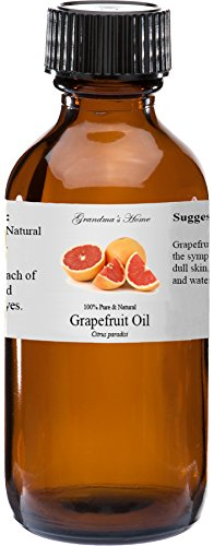 Grapefruit Essential Oil - 2 fl oz -100% Pure and Natural - Therapeutic Grade - Grandmas Home