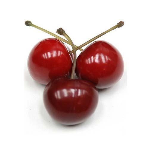 artificial 36 cherries in a pvc box 2 5cm red amazon co uk
