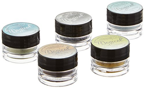 Lindy's Stamp Gang Magical Jar Set, 0.25-Ounce, Industrial Chic, 5 Per Package by Lindy's Stamp Gang