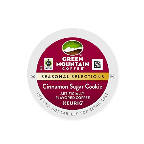 Green Mountain Coffee Cinnamon Sugar Cookie K-Cups (36 Count)
