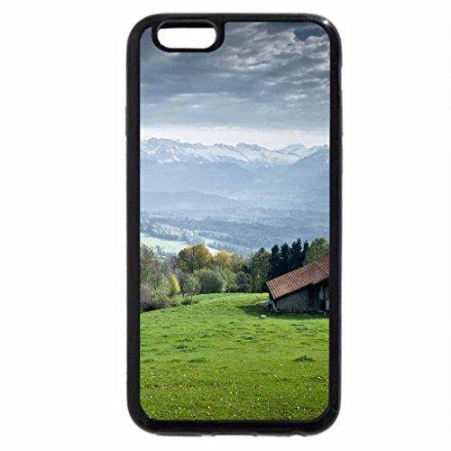 iPhone 6S / iPhone 6 Case (Black) House on Hill