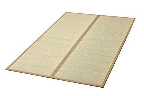 イケヒコ い草ラグ カーペット 無地 2畳 ボリューム 『座王』 約200×200cm (中材:い草) B000OVIKDE  200×200cm
