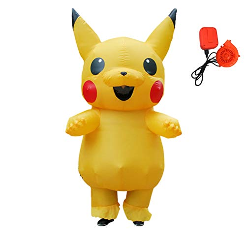 Pikachu Mascot Costume - ANOTHERME Inflatable Pikachu Fancy Dress for
