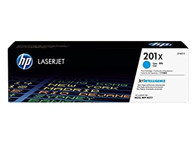 HP 201X (CF401X) Cyan High Yield Original LaserJet Toner Cartridge