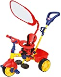 Little Tikes 4-in-1 Trike Primary for Kids, Blue/Yellow/Red