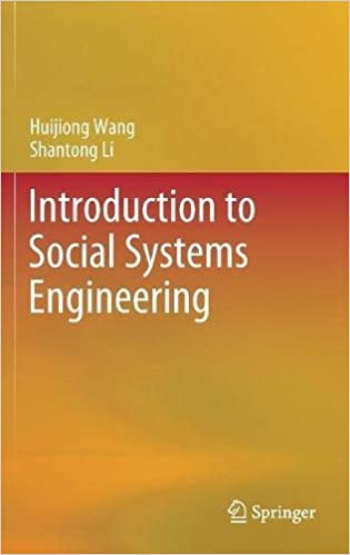 Introduction to Social Systems Engineering
