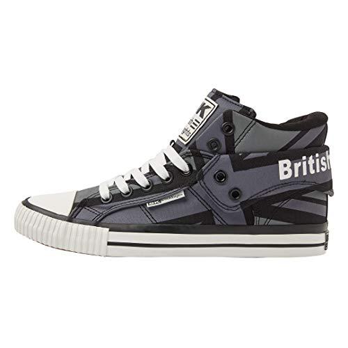 Gris Gris Gris union Herren Noir Noir Noir Noir Roco 03 Marine Jack Hohe Britanniques Sneaker Chevaliers Blau Bq1vB
