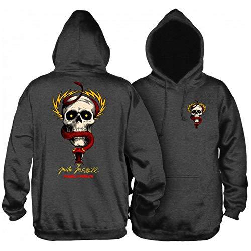 Powell-Peralta Skateboard Hoodie Sweatshirt McGill Charcoal Size XL