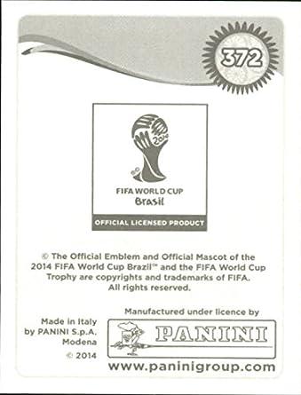 Sticker 372 Felipe Caicedo Panini WM Worldcup 2014