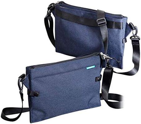 エンドー鞄 FREQUENTER WEEKEND フリクエンター ウィークエンド W サコッシュ ショルダーバッグ コン 4-352-NV