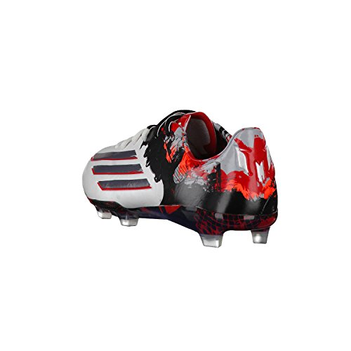 Adidas Messi 10.1 Fg Hommes Chaussures De Football Football Crampons Sol Ferme Blanc Granit Écarlate Rouge B23767