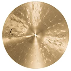 """With its dark tone, The highly-responsive Sabian 19"""" Hhx legacy crash is a punchy, dark and complex cymbal, capable of playing loud while remaining always musical. Developed with Dave wick, legacy is the """"dark side"""" Of Dave's sound: The yin t..."""