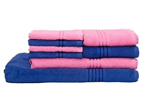HomeStrap Classic Bath Towel Set – Pack of 8