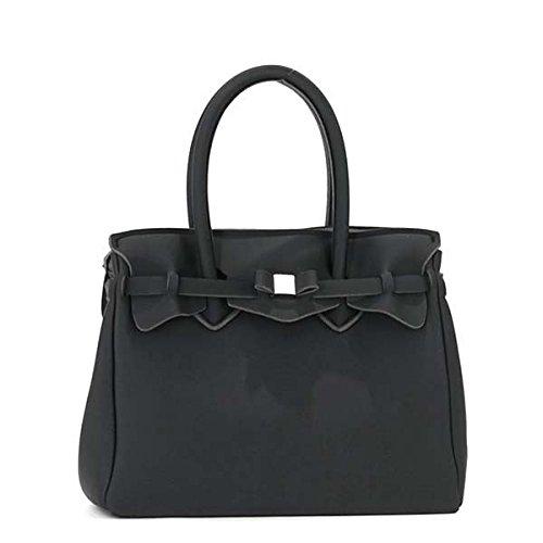 SAVE MY BAG(セーブマイバッグ) ハンドバッグ 10204N NERO ファッション バッグ ハンドバッグ top1-ds-1928874-ah [簡素パッケージ品] B07546YDYD