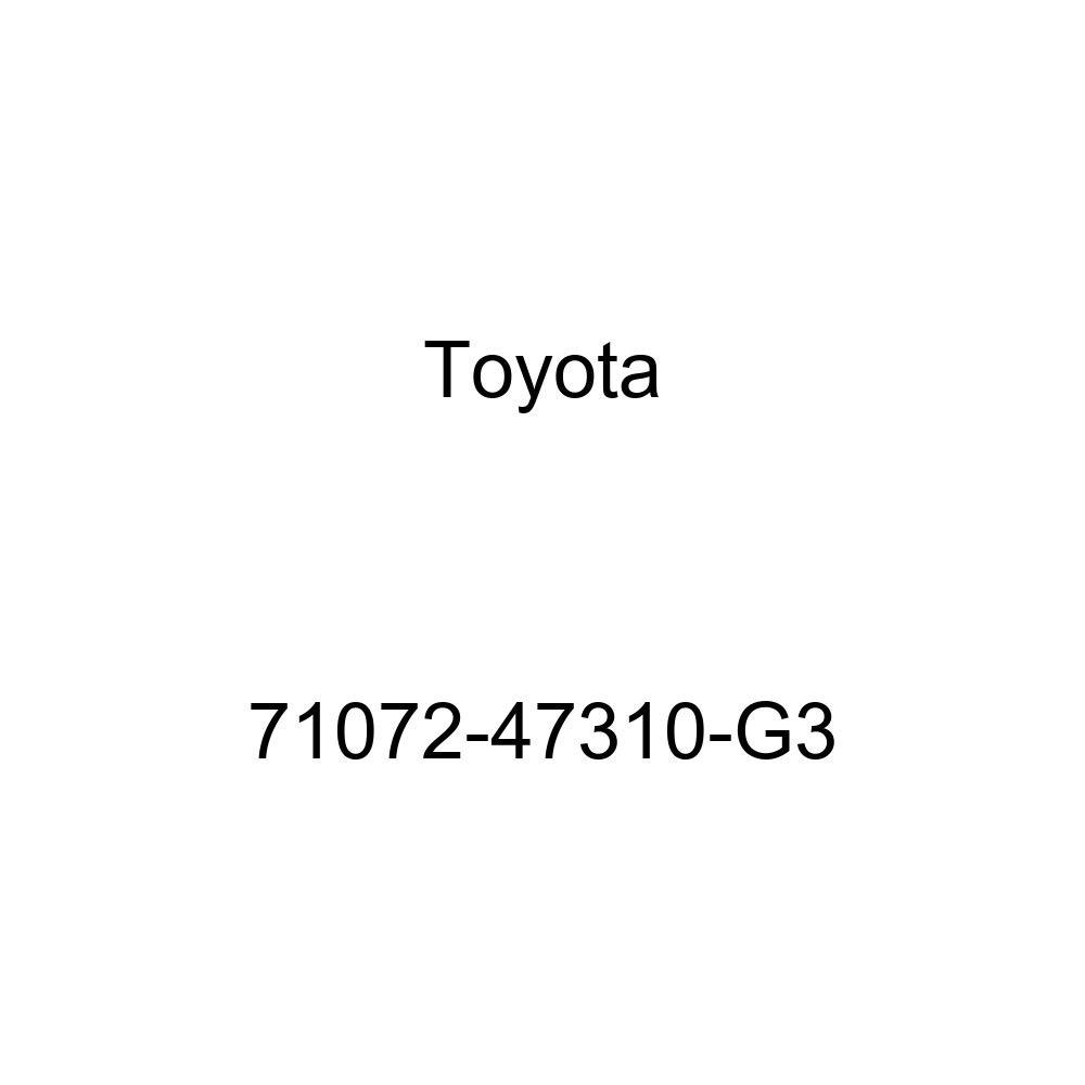 TOYOTA Genuine 71072-47310-G3 Seat Cushion Cover