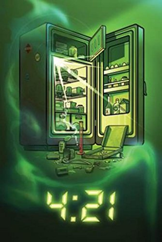 421 Refrigerator Munchies After 420 Marijuana Funny Poster