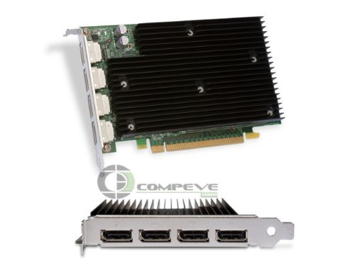 NEW NVIDIA QUADRO NVS 450 PCIE16512MB GDDR3 4PORT DP T (Home & (Quad Video Card)