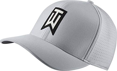 NIKE TW AeroBill Classic 99 Performance Golf Cap 2018 Wolf Gray/Anthracite/Black Medium/Large