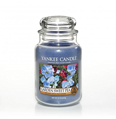 Yankee Candle 22 oz. Garden Sweet Pea Jar Candle