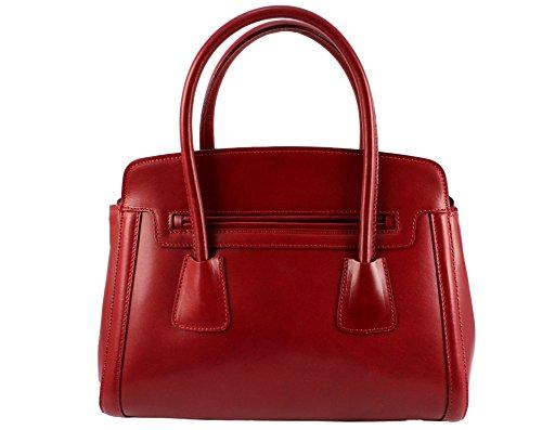 Italie chloly sac main luna cuir luna sac Luna cuir cuir cuir cuir sac marque luna Rouge sac cuir vegetal sac elegant sac à Clair femme Plusieurs femme Coloris 64qwI