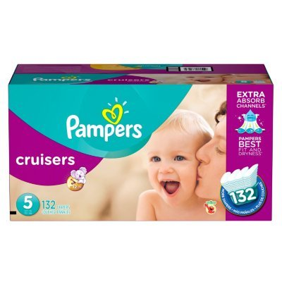Large Product Image of Pampers Cruisers size 5